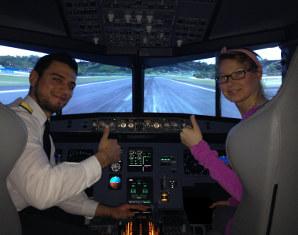 Flugsimulator - A320 - 1 Stunde Airbus A320 - 90 Minuten