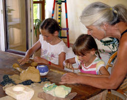 Keramik-Workshop für Kinder für Kinder mit 2 Übernachtungen, 3 Tage