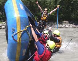 Rafting Wochenende - Tösener Schlucht & Sanna , inkl. 2 Übernachtungen & Verpflegung - 2 Tage Tösener Schlucht & Sanna, inkl. Verpflegung,