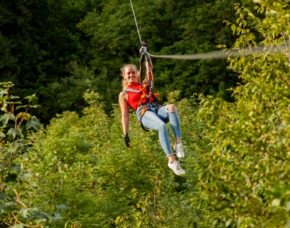 Flying Fox Zipline-Parcours am Tag - 2,5 Stunden