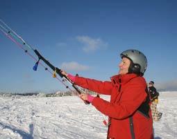 Snow kiten - Tickets finden und buchen