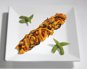 Kleine Köstlichkeiten für Zwei (Sushi-Mittagsmenü) - Karlsruhe, Erbprinzenstr. 4-12 Sushi-Mittagsmenü, inkl. Tee & Wein