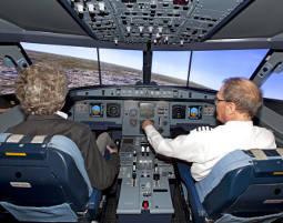 Flugsimulator - Airbus A320 - 50 Minuten Airbus A320 - 60 Minuten