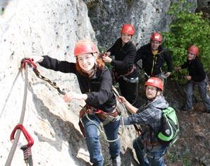 Kletterabenteuer Klettersteig Fränkische Schweiz Fränkische Schweiz - 6 Stunden