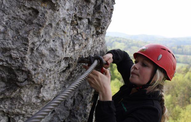 Klettersteigset Nürnberg : Klettersteigkurs klettersteig hirschbach nürnberg