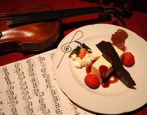 Konzert und Dinner Mozart Konzert - 3-Gänge-Menü