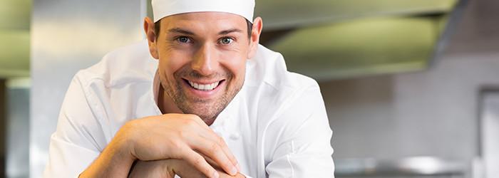 Miete einen Koch