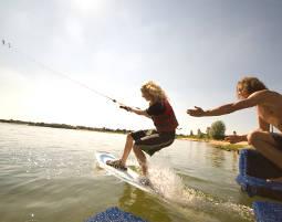 Wakeboard fahren oder Wasserski, Idasee - 1 Tag