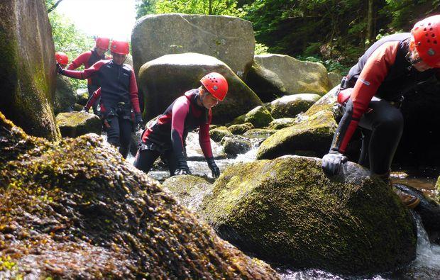 canyoning-tour-goslar-klettern