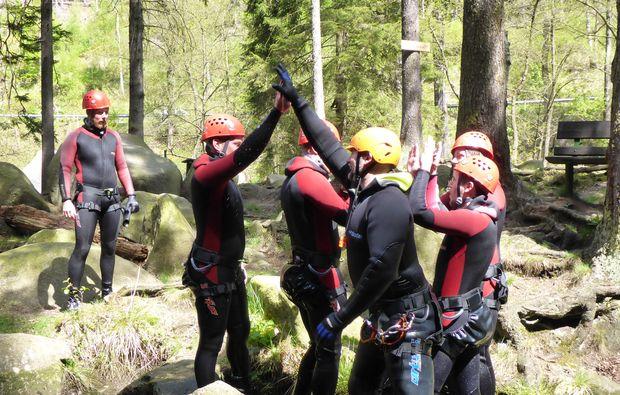 canyoning-tour-goslar-squad