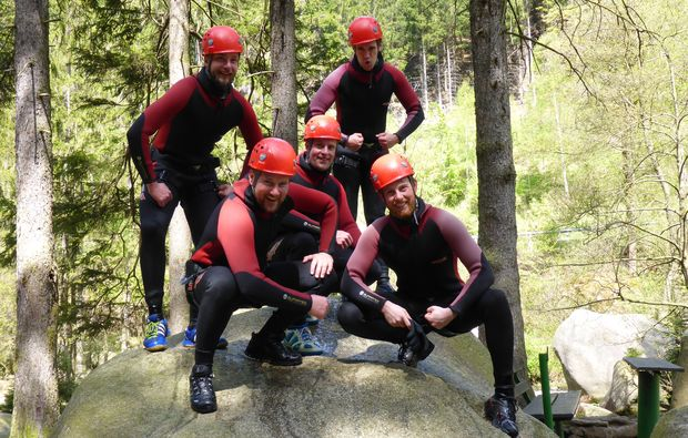 canyoning-tour-goslar-team