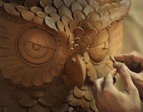 Klassischer Bildhauer-Workshop...