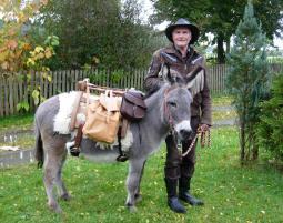 Esel-Trekking-Schnuppertour_Gründels Schnupper-Tour - 45 Minuten