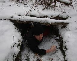 Wildnis-Survival Grundkurs - 2 Tage Winter Kurs inkl. Werkzeug Herstellung, Entfachen von Feuer