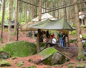 Wildnis-Wochenende   Viechtach Erste Hilfe, Überlebenstraining, Klettern, Bogenschießen