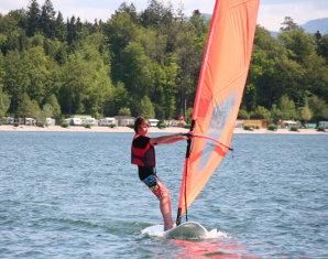 Windsurf-Kurs für Kinder (3-tägiger Kurs) - Chieming Chiemsee - 3 Tage
