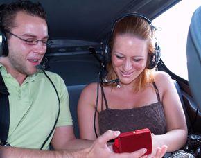 Romantik-Flugzeug-Rundflug Sch...