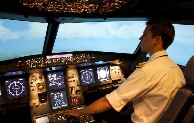 3D-Flugsimulator Berlin-Schönefeld