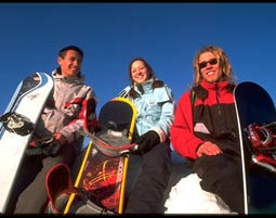 Snowboarden Feldberg