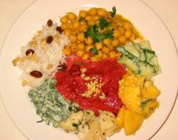 Indische Küche   Schwetzingen Mehr-Gänge-Menü, inkl. Getränke