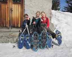Schneeschuhwandern und Schneeschuhkurse