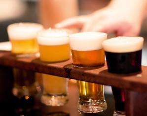 Bierverkostung von 6 Sorten