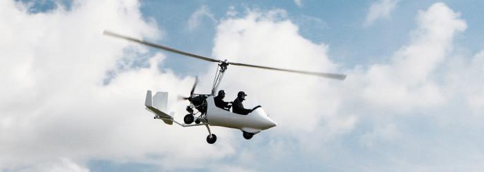Tragschrauber selber fliegen