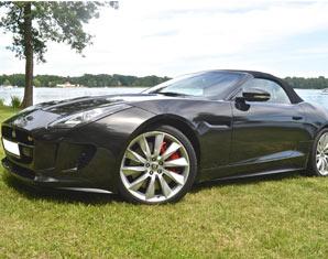 Jaguar fahren - 12 Stunden Jaguar F-Type V8 S Cabrio - 12 Stunden ohne Instruktor