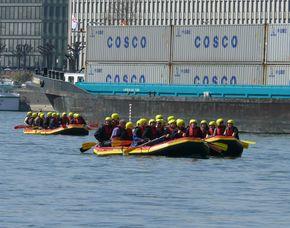 Schlauchboot-Tour - Rhein - ca. 2,5 Stunden Rhein - ca. 2,5 Stunden