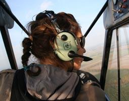 pilot-flugzeug