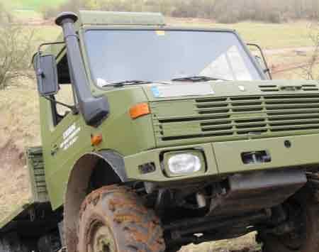 Truck offroad fahren - Unimog 1300L-BW Unimog 1300L-BW - 60 Minuten