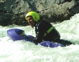 Hydrospeed auf der Lammer - Halbtagestour Abtenau Lammer - ca. 3 Stunden