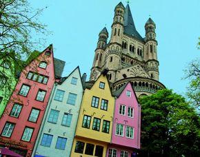 Außergewöhnliche Stadtrundfahrt Köln Comedy Tour