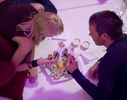 Lover´s Lying Dinner für Zwei   Hamburg 3-Gänge-Menü, inkl. 1 Glas Prosecco