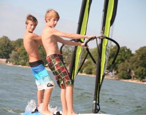 Windsurf-Schnupperkurs für Kinder - Herrsching am Ammersee Ammersee - ca. 4 Stunden