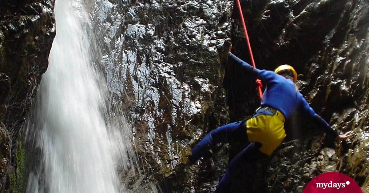 Klettersteigset Leihen Garmisch Partenkirchen : Canyoning in garmisch partenkirchen an der zugspitze mydays