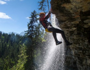 Canyoning-Tour Garmisch Partenkirchen