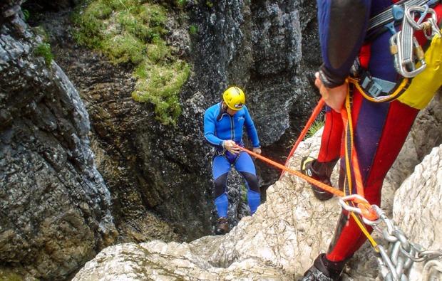 canyoning-tour-garmisch-partenkirchen-und-umgebung-action