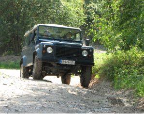 Landrover Defender fahren Land Rover Defender 110 Station Waggon - 60 Minuten
