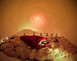 Übernachtung im Romantik-Iglu - 1 ÜN im 2er-Iglu - Käsefondue