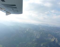 Alpen Rundflug über den Alpen - 3 Stunden