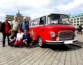 Stadtrundfahrt - im original DDR-Oldtimer für Zwei im Original-DDR-Oldtimer
