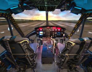 Flugsimular - Hubschrauber Bell UH-1 - 1 Stunde Hubschrauber Bell UH-1 - 60 Minuten