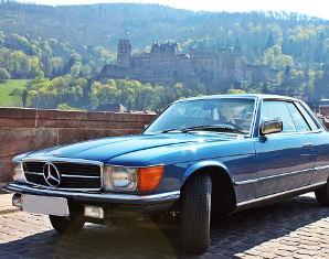 Oldtimer fahren - 3 Stunden Mercedes SLC 280 - 3 Stunden