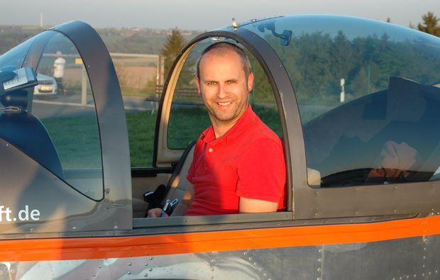 flugzeug-rundflug-bad-berka-pilot