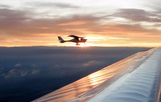 flugzeug-rundflug-bad-berka-sunset-sonnenuntergang