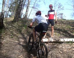 Mountainbike Tour für Einsteiger Einsteiger Tour - ca. 3 Stunden