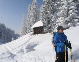 Schneeschuh-Wanderung - Bad Tölz Tages-Tour- ca. 5 Stunden