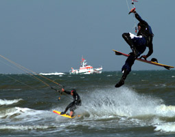 Kitesurf-Kurs - 5 Tage Ostsee, Camp inkl. Übernachtungen - 5 Tage