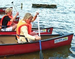 Canadier-Tour auf der Trave - Bad Oldesloe Mittlere Trave - ca. 5,5 Stunden